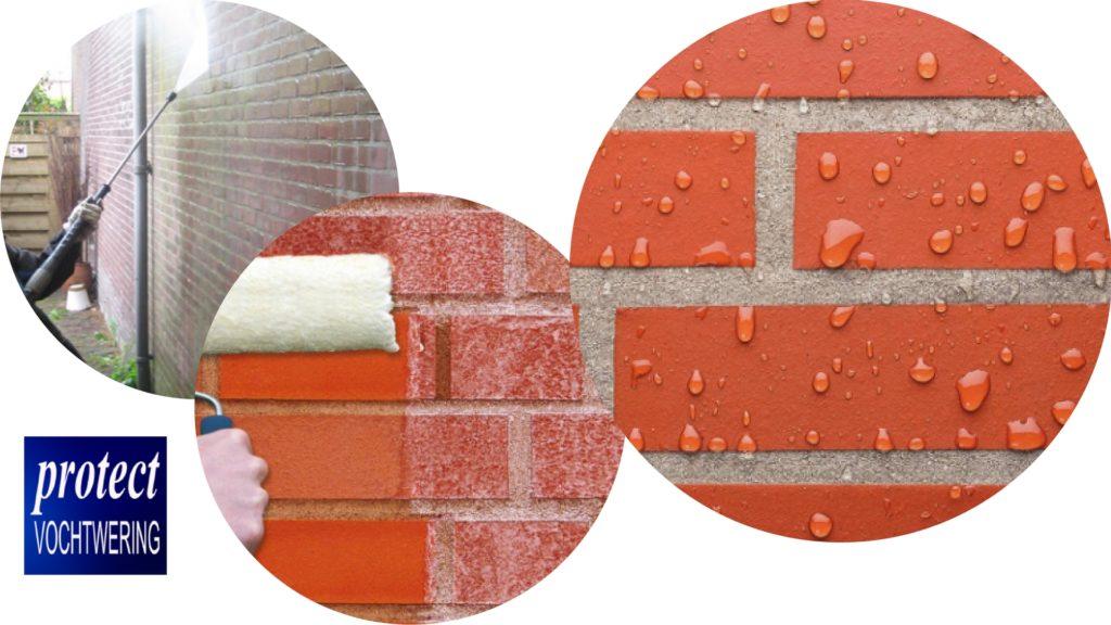reinigen muur en impregneren